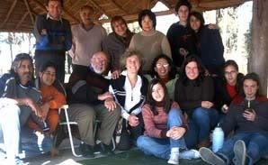 El grupo Guyunusa reunido.